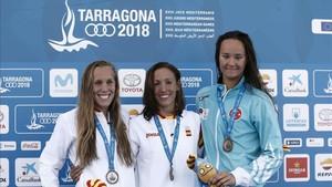Jessica Vall y Marina García, oro y bronce en 200m. braza
