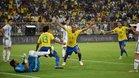 Joao Miranda anotó el gol de la victoria en el último minuto