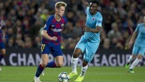 De Jong reconoció que deben trabajar más para mejorar el juego