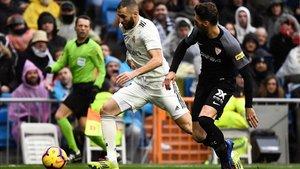 Karim Benzema sigue lejos de su mejor momento
