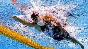 Katie Ledecky suma 14 oros y una plata desde 2003. Es la reina en Gwangju
