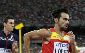 Kevin López no pudo acceder a la final