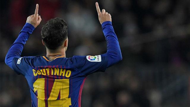 LALIGA | FC Barcelona - Girona (6-1): Coutinho marcó su primer gol en liga
