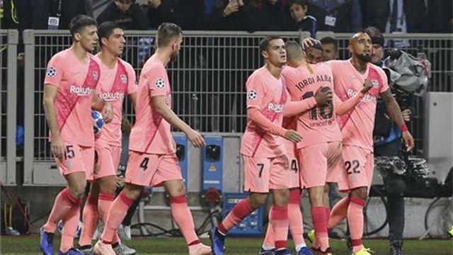 Las notas de los jugadores del Barça ante el Inter de Milán