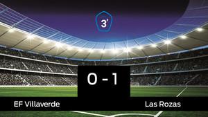 Las Rozas vence 0-1 frente al Villaverde