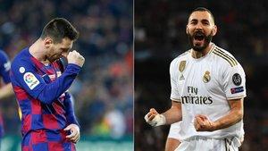 Leo Messi y Karim Benzema lideran la clasificación del Pichichi 2019/20