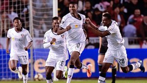 Liga de Quito logró una importante victoria ante Olimpia