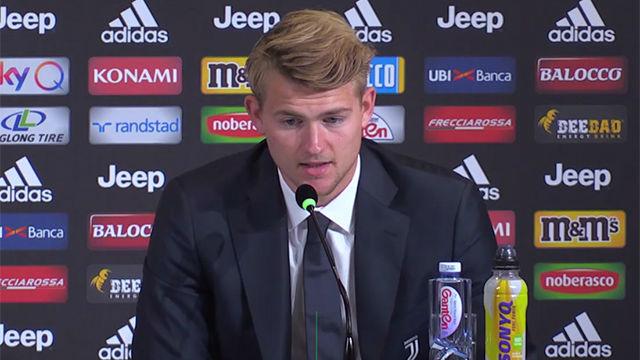 De Ligt explicó por qué se decantó por la Juventus