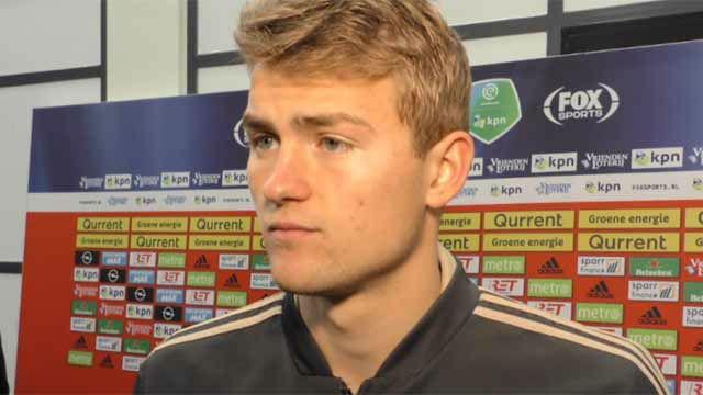 De Ligt, tras la derrota del Ajax: Debemos recuperarnos para jugar ante el Real Madrid