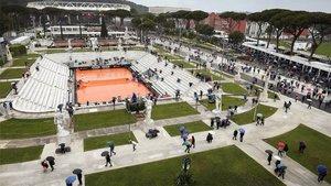 La lluvia canceló la mayor parte de los partidos en Roma