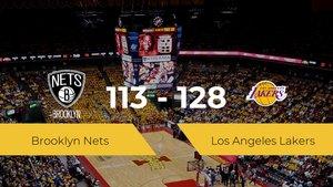 Los Angeles Lakers logra la victoria frente a Brooklyn Nets por 113-128