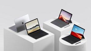 Los nuevos productos Surface de Microsoft