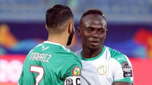 Mahrez y Mané, las dos estrellas de la final