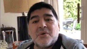 Maradona responde a los rumores