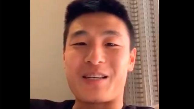 El mensaje de Wu Lei tras anunciarse su positivo