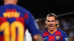 Messi y Grizmann apuntan a titulares