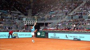 Nadal en el Mutua Madrid Open