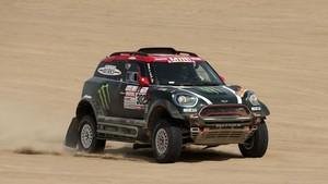 Nani Roma, en el último Dakar antes del accidente