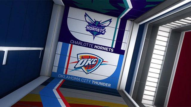 NBA VIDEO | Los Thunder cayeron ante los Charlotte Hornets