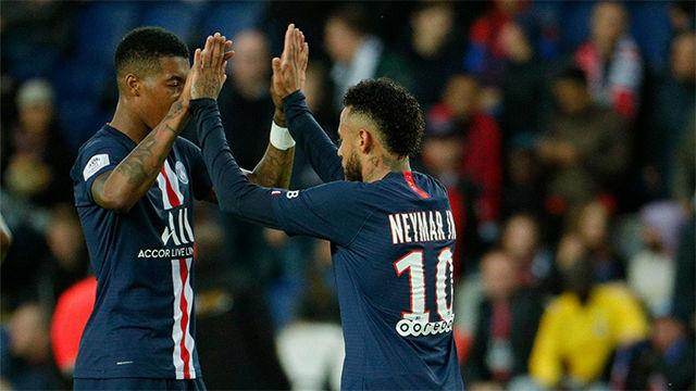 Neymar continúa en racha desde su vuelta al equipo: gol al Angers