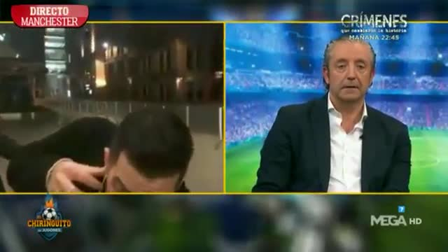 Un periodista de El Chiringuito es acosado en directo