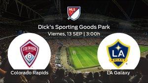 Previa del encuentro de la jornada 36: Colorado Rapids - LA Galaxy