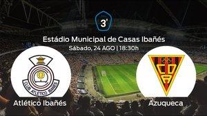 Previa del partido: primer partido del campeonato para el Atlético Ibañés ante el Azuqueca