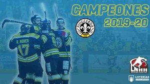 El Puigcerdà se ha proclamado campeón de la Ligga de hockey hielo