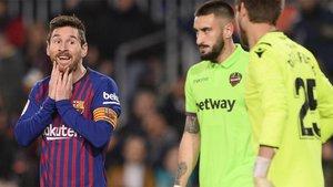 Quieren eliminar al Barça en los despachos