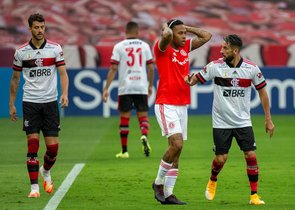 Quinto empate del torneo tanto para Inter como para Flamengo