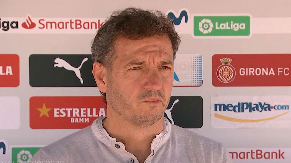 Quique Cárcel: El Girona está preparado para luchar por el ascenso
