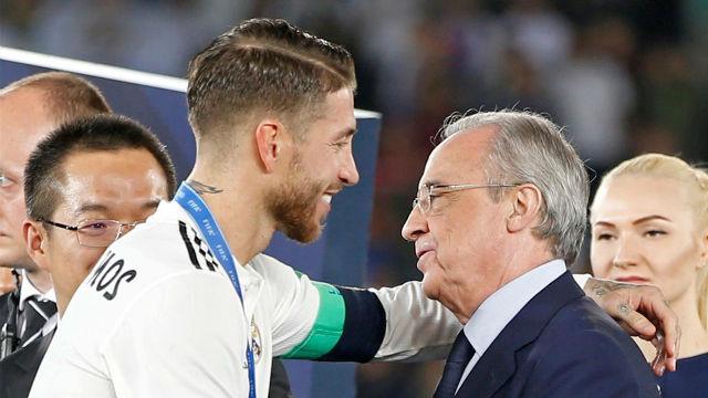 ¿Ramos fuera del Real Madrid? Florentino responde