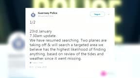 Se reanuda la búsqueda del avión en el que viajaba Emiliano Sala