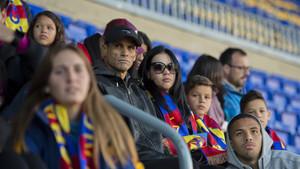 Rivaldo y su familia en un momento de la Match Party del clásico