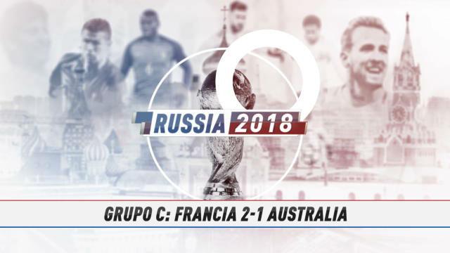 Rusia 2018 | Francia gana a Australia en un partido gris