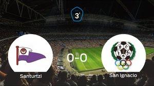 El San Ignacio saca un punto al Santurtzi a domicilio (0-0)