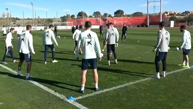 La selección comienza a preparar el partido ante Rumania