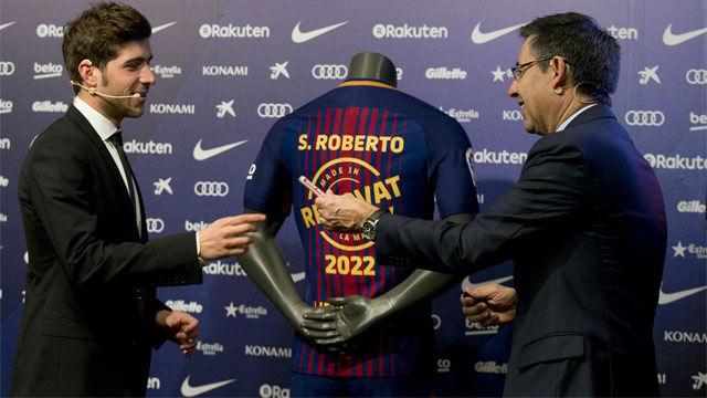 Sergi Roberto: Había otros clubs interesados, pero siempre he querido quedarme en el Barça
