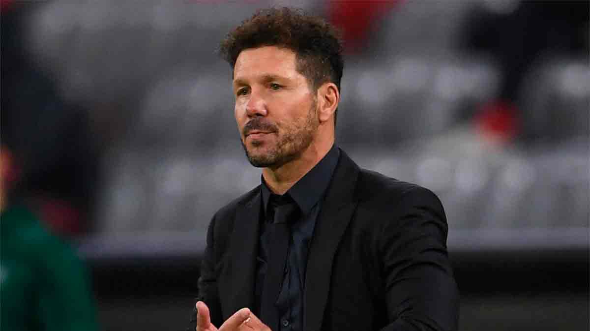 Simeone defiende a LaLiga... ¡hablando del Madrid!