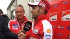 Barberá ha posado ya con los colores del equipo oficial Ducati