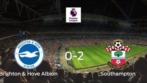 El Southampton se lleva el triunfo tras vencer 0-2 al Brighton and Hove Albion