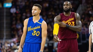 Stephen Curry y LeBron James, capitanes de los dos equipos del All Star Game