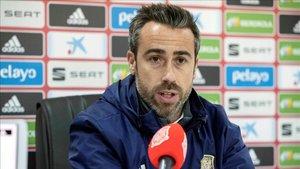 El técnico de la selección española de fútbol femenino Jorge Vilda