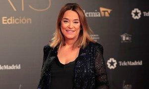 Toñi Moreno y su guiño en los Premios Iris 2019 a Canal Sur