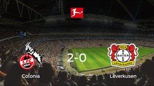 Tres puntos para el equipo local: Colonia 2-0 Bayern Leverkusen