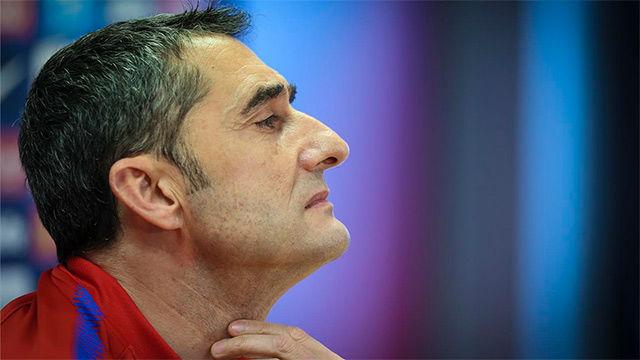 Valverde se mostró tranquilo con los rumores sobre las ofertas a Iniesta del fútbol chino