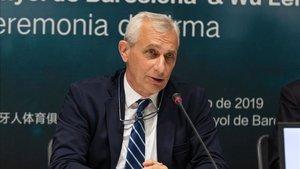 El vicepresidente del Espanyol dio una cifra aproximada para el mercado invernal.