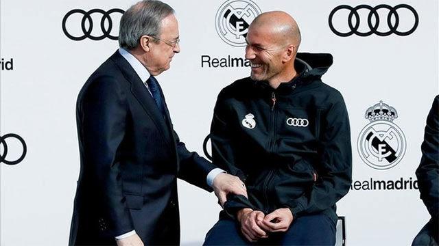 Zidane habló claro sobre el mercado de invierno del Madrid