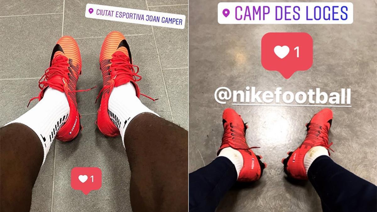 las botas para una campaña calza Dembélé Nike de se 13lFTcKJ