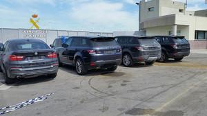 La Guardia Civil ha recuperado 111 coches en la operación Sayara.